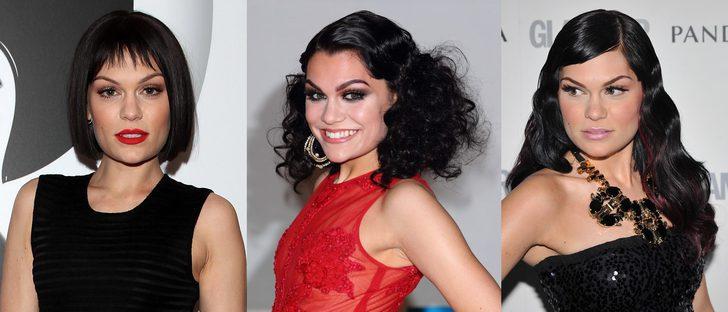 Los peores peinados de Jessie J