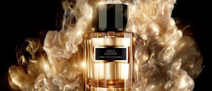 Carolina Herrera se inspira en la cultura árabe para lanzar 'Gold Incense'