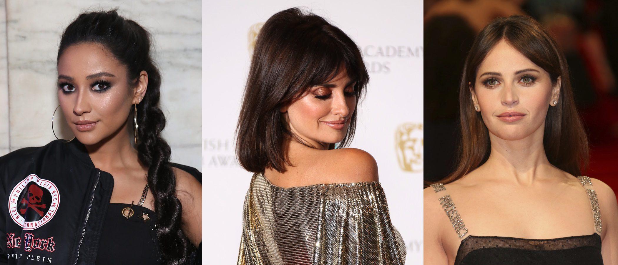 Shay Mitchell, Penélope Cruz y Felicity Jones lucen los mejores beauty looks de la semana