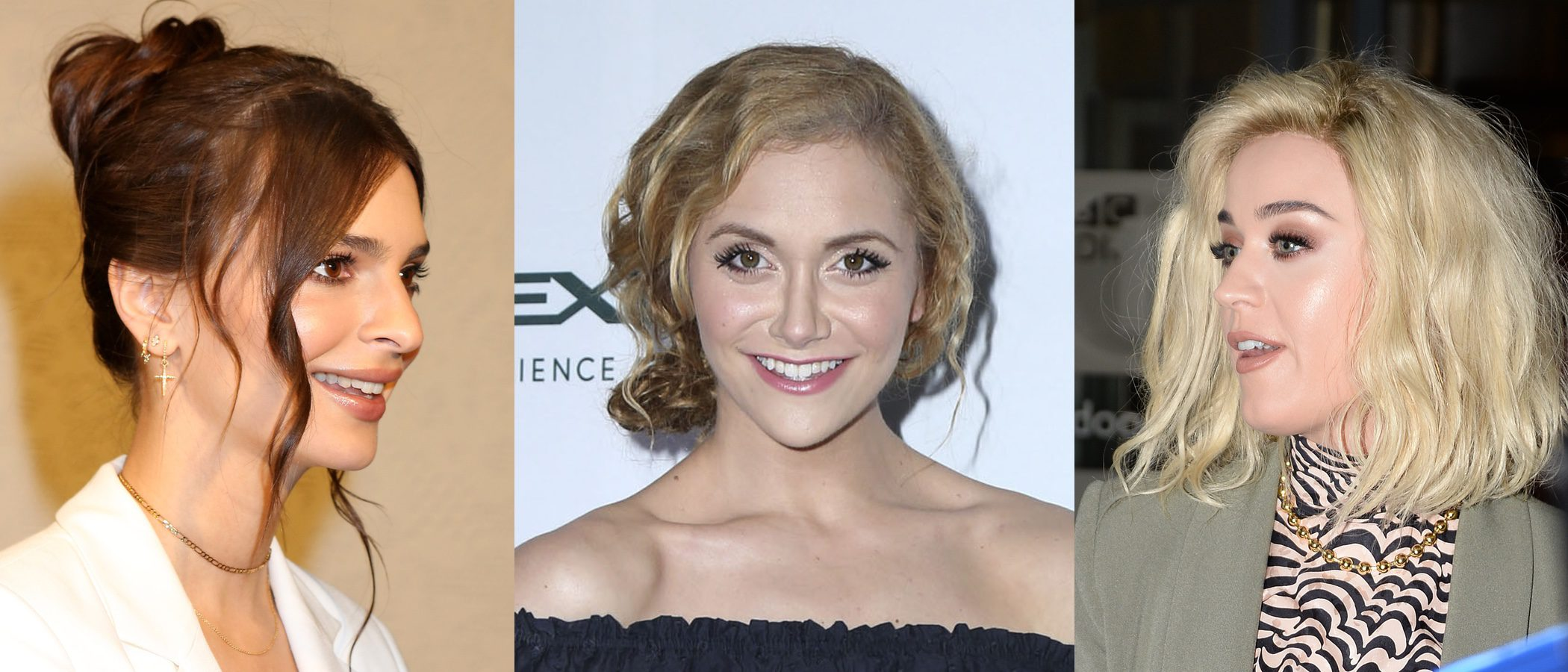 Emily Ratajkowski, Alyson Stoner y Katy Perry entre los peores beauty looks de la semana