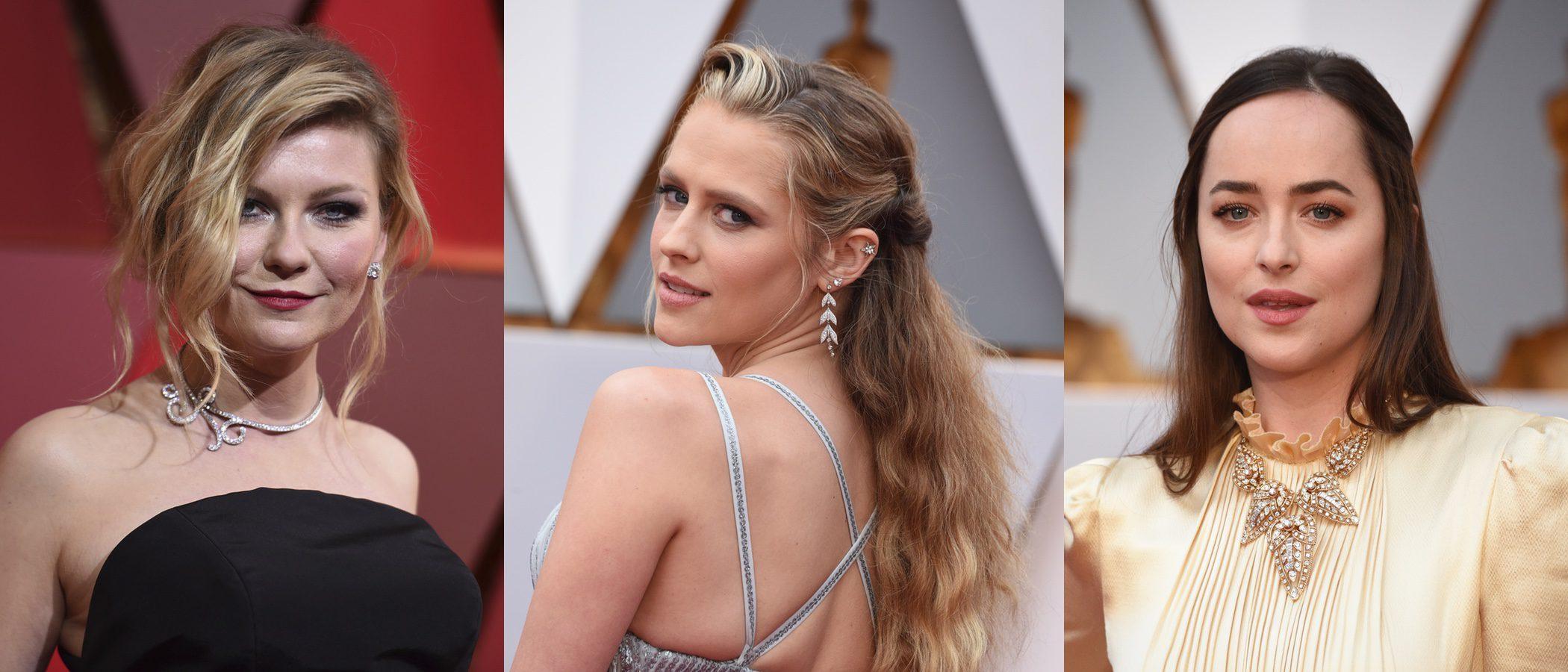 Kirsten Dunst, Teresa Palmer y Dakota Johnson entre los peores beauty looks de los premios Oscar 2017