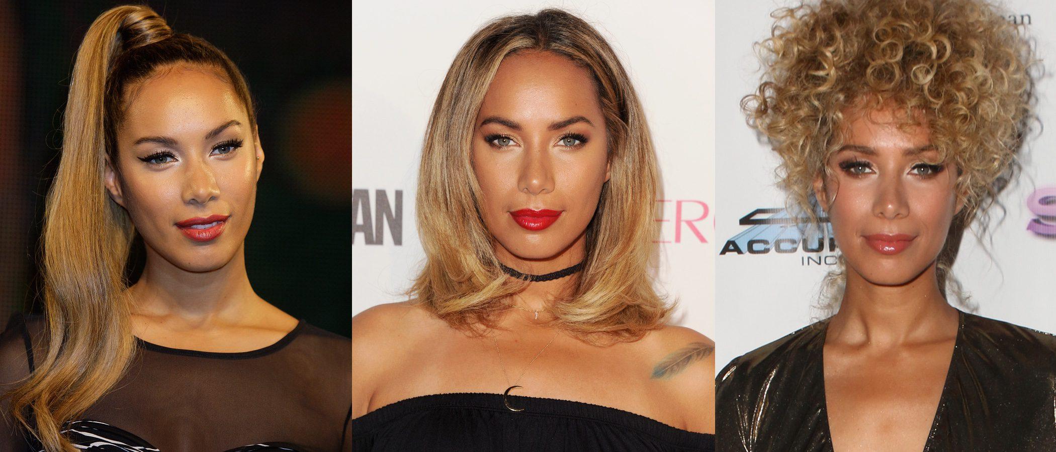 Los mejores peinados de Leona Lewis
