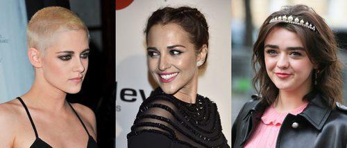 Kristen Stewart, Paula Echevarría y Maisie Williams, entre los mejores beauty looks de la semana
