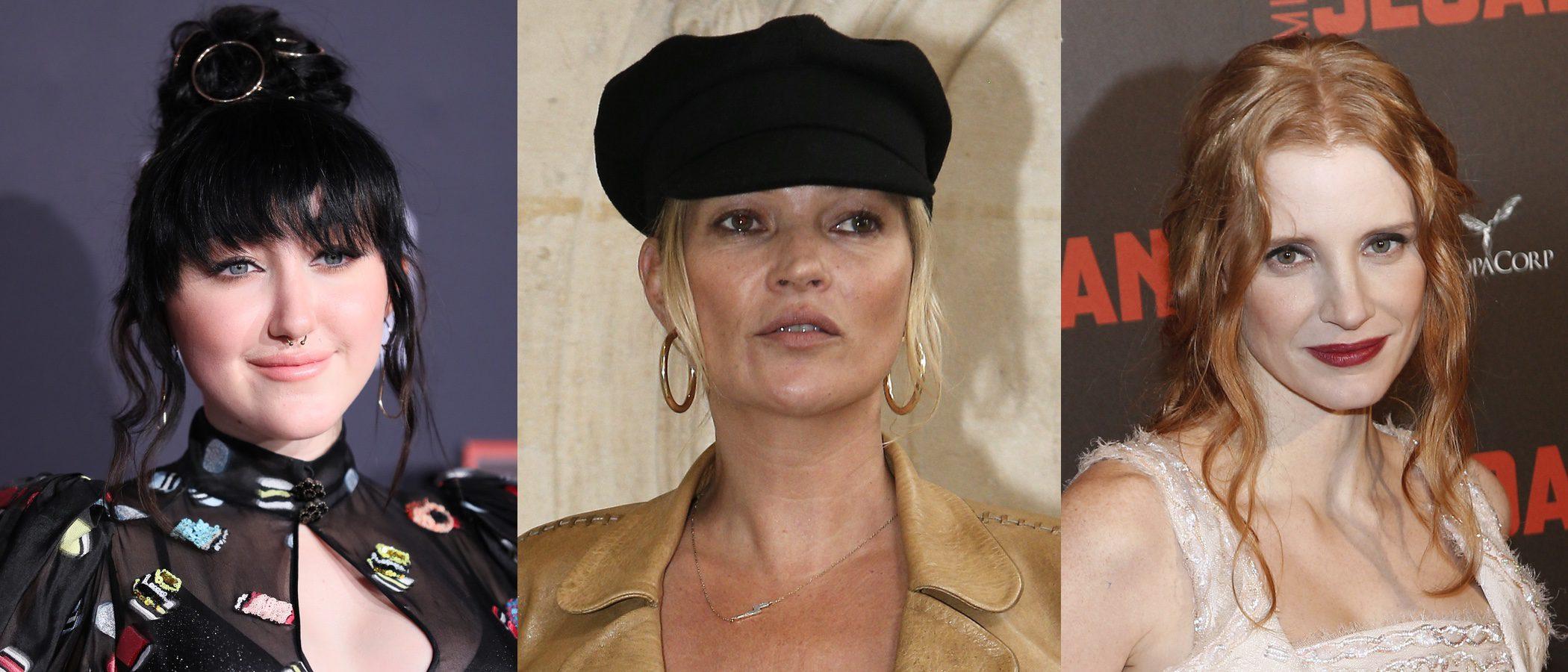 Noah Cyrus, Kate Moss y Jessica Chastain entre los peores beauty looks de la semana