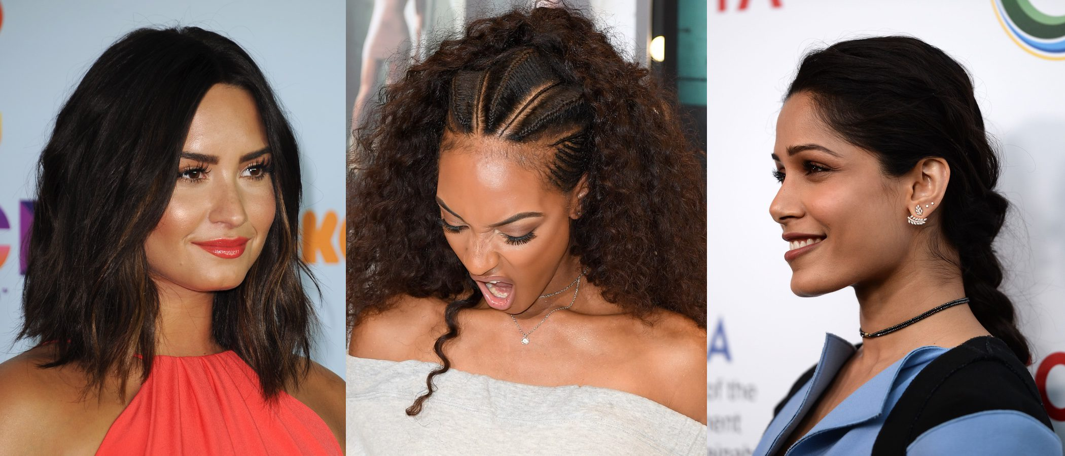 Demi Lovato, Jourdan Dunn y Freida Pinto entre los mejores beauty looks de la semana