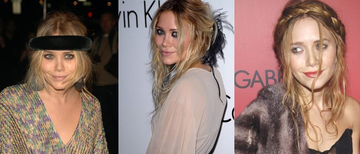 Los peores peinados de Mary-Kate Olsen