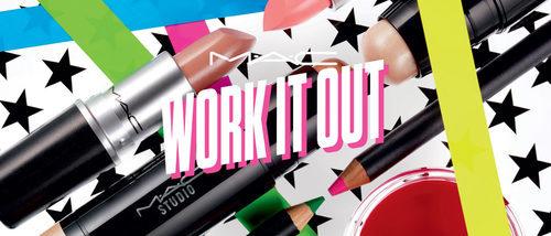 'Work it out' de MAC se inspira en la ropa deportiva de los 80