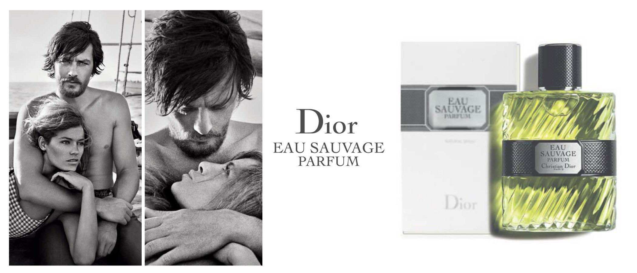 'Eau Sauvage Parfum', la versión más moderna de la emblemática colonia para hombres de Dior