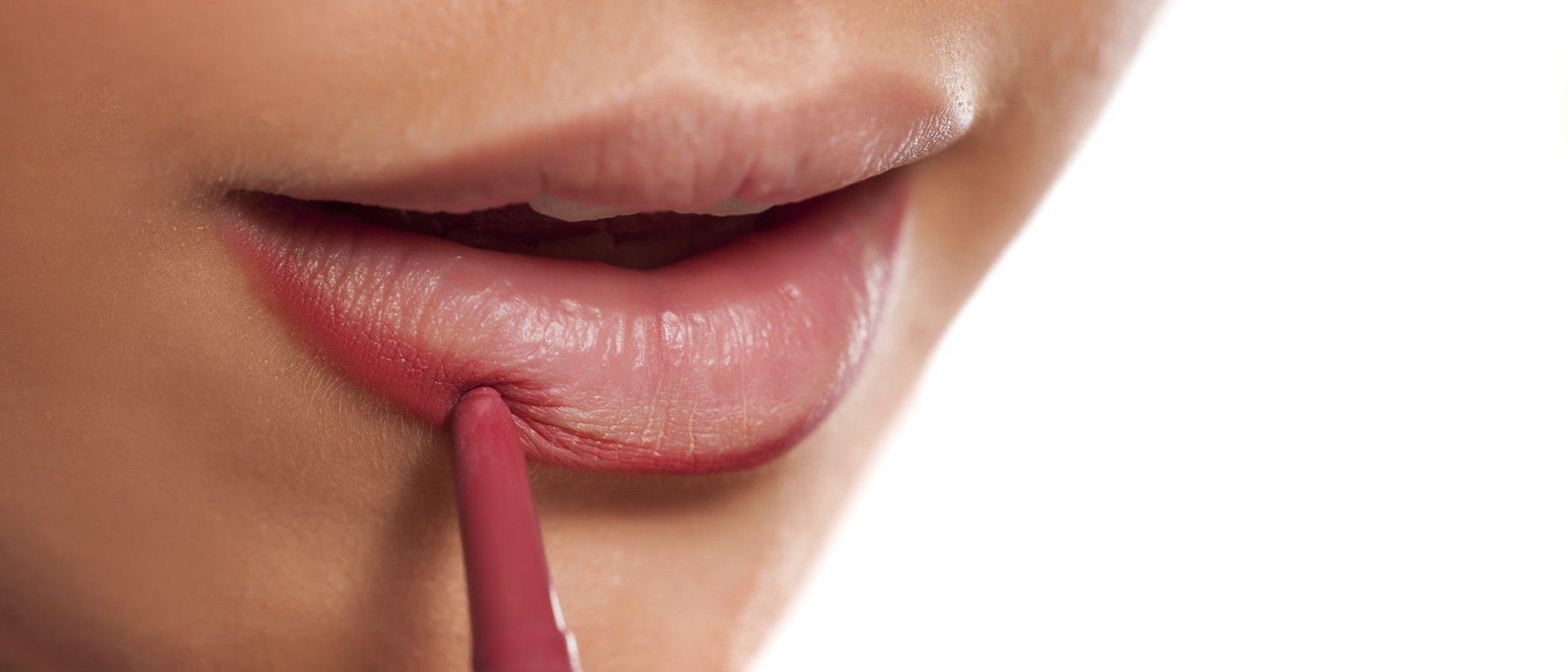 Para qué perfilarse los labios