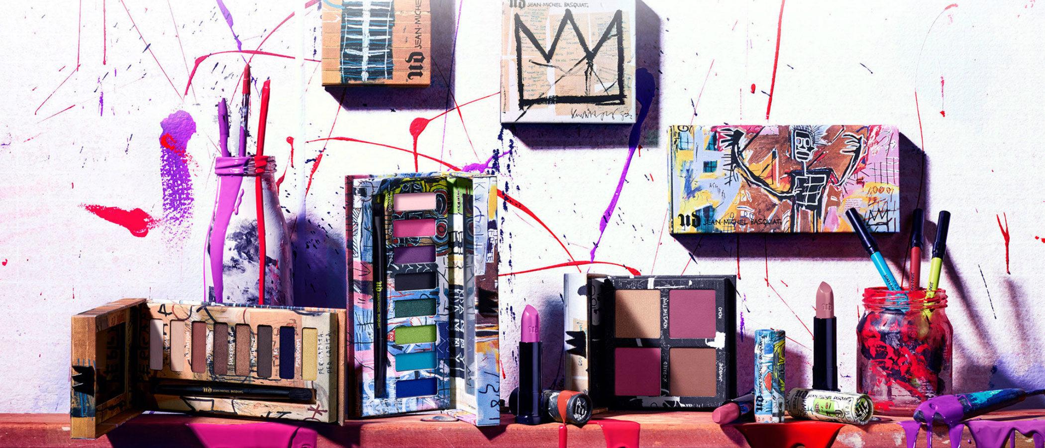 Urban Decay toma como inspiración de su nueva colección a Basquiat