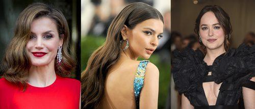 La Reina Letizia, Emily Ratajkowski y Dakota Johnson, entre los mejores beauty looks de la semana