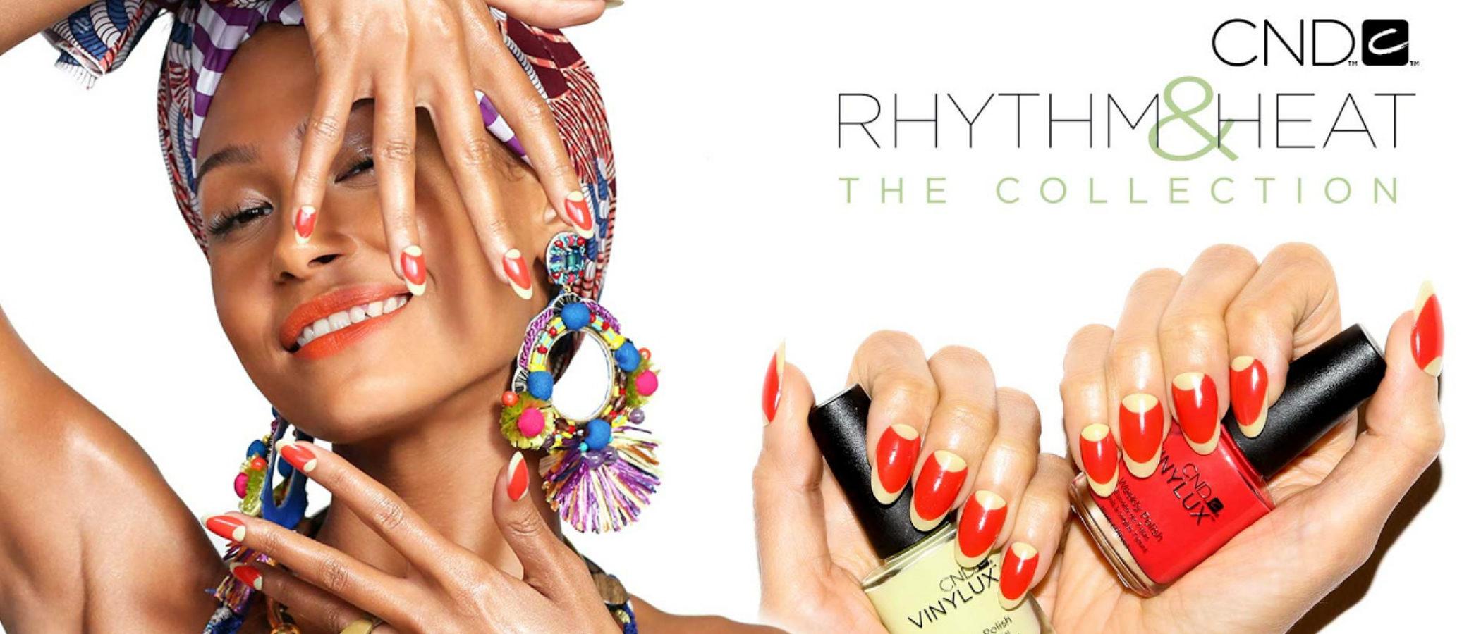 CND presenta 'Rythm&Heat', una colección de lacas de uñas llena de color