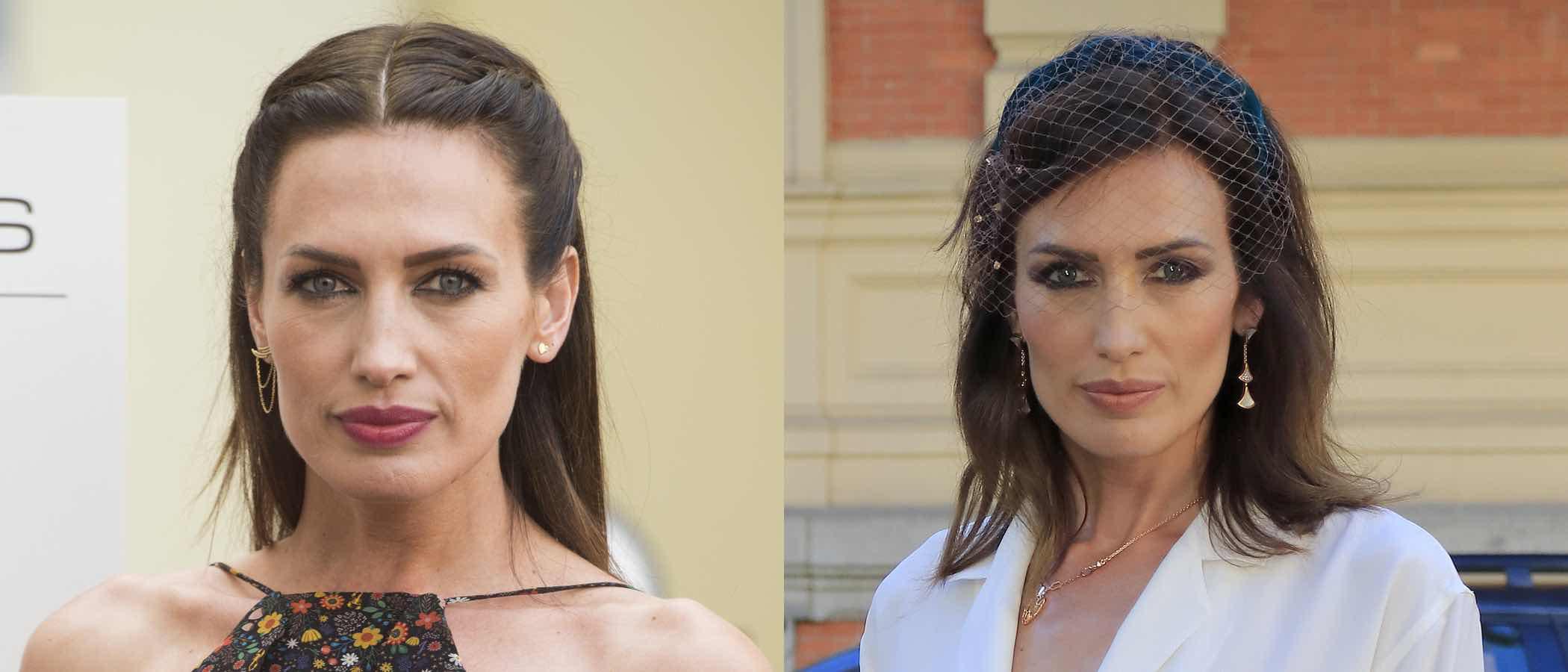 Los mejores peinados de Nieves Álvarez