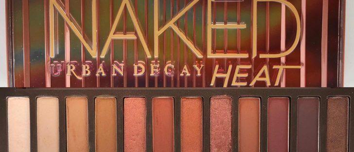 Urban Decay Paleta Naked Heat Nueva Es Original Envio
