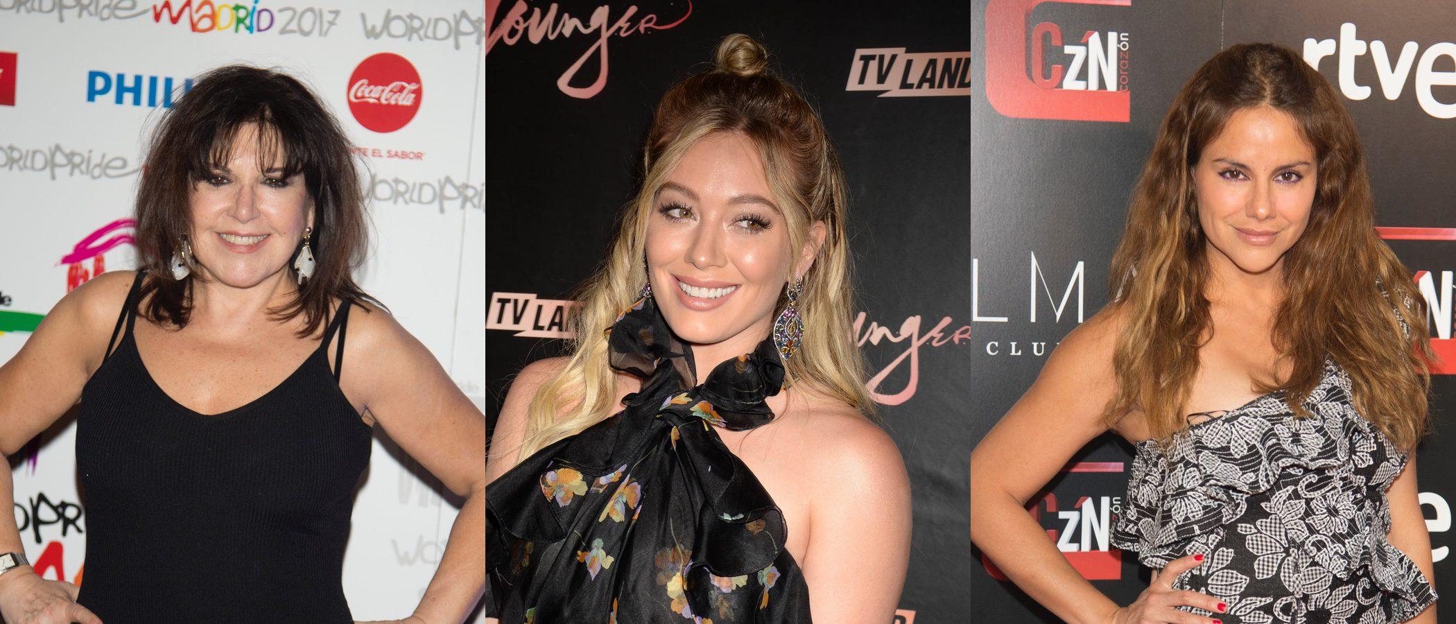Loles León, Hilary Duff y Mónica Hoyos, entre las peores beauty looks de la semana