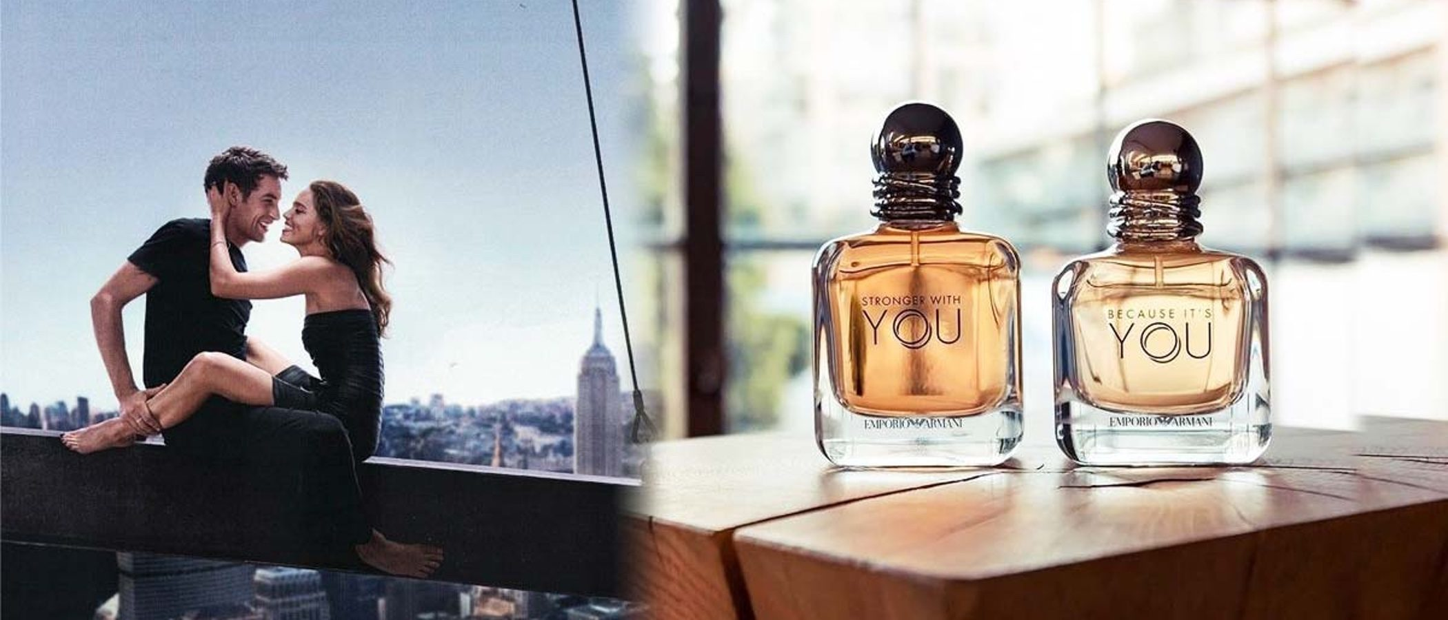 'Because it's you', la fragancia romántica y jovial de Emporio Armani