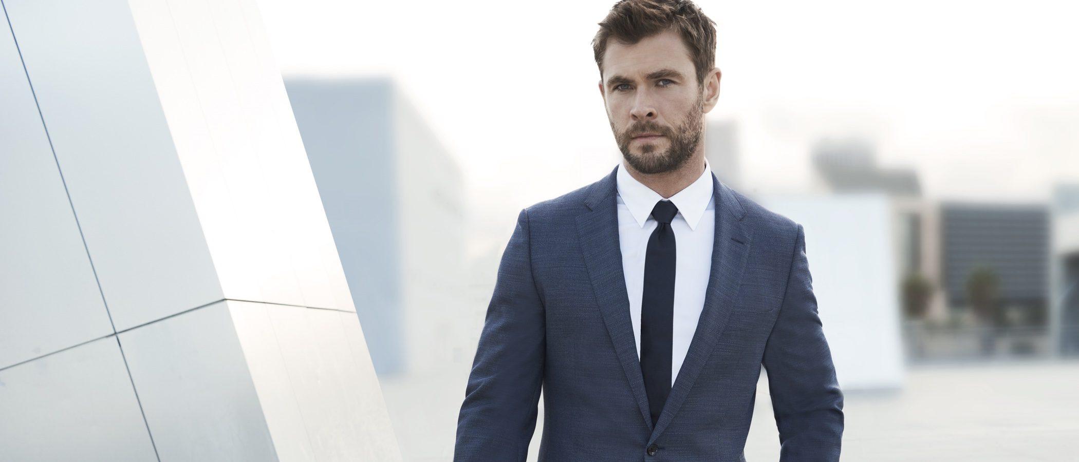 Chris Hemsworth, nombrado imagen de la campaña 'BOSS BOTTLED Man of Today'