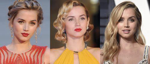 Los mejores peinados de Ana de Armas