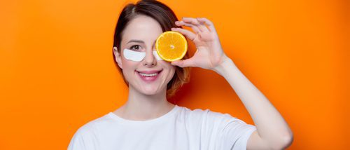 3 mascarillas caseras con naranja