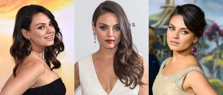 Los mejores peinados de Mila Kunis