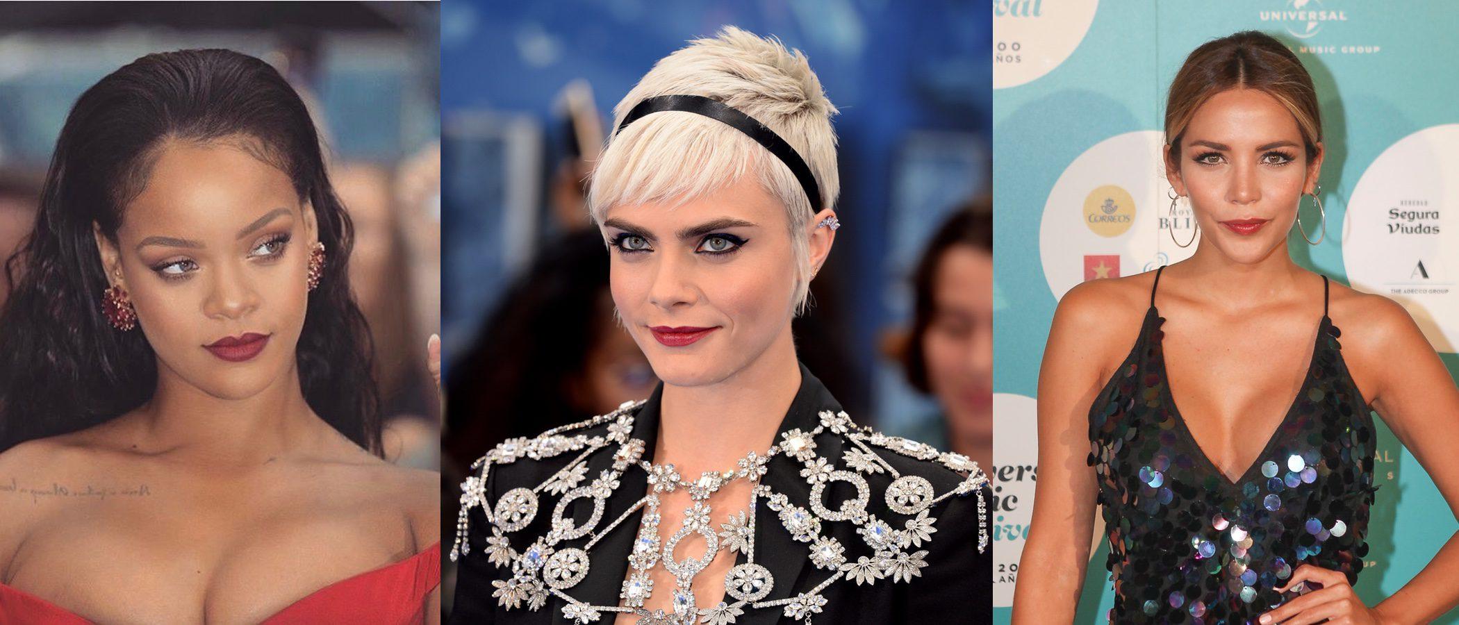 Rihanna, Cara Delevigne y Rosanna Zanetti, entre los mejores beauty looks de la semana