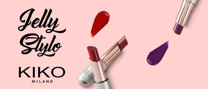'Jelly Stylo', la nueva colección de labiales efecto 'gloss' de Kiko