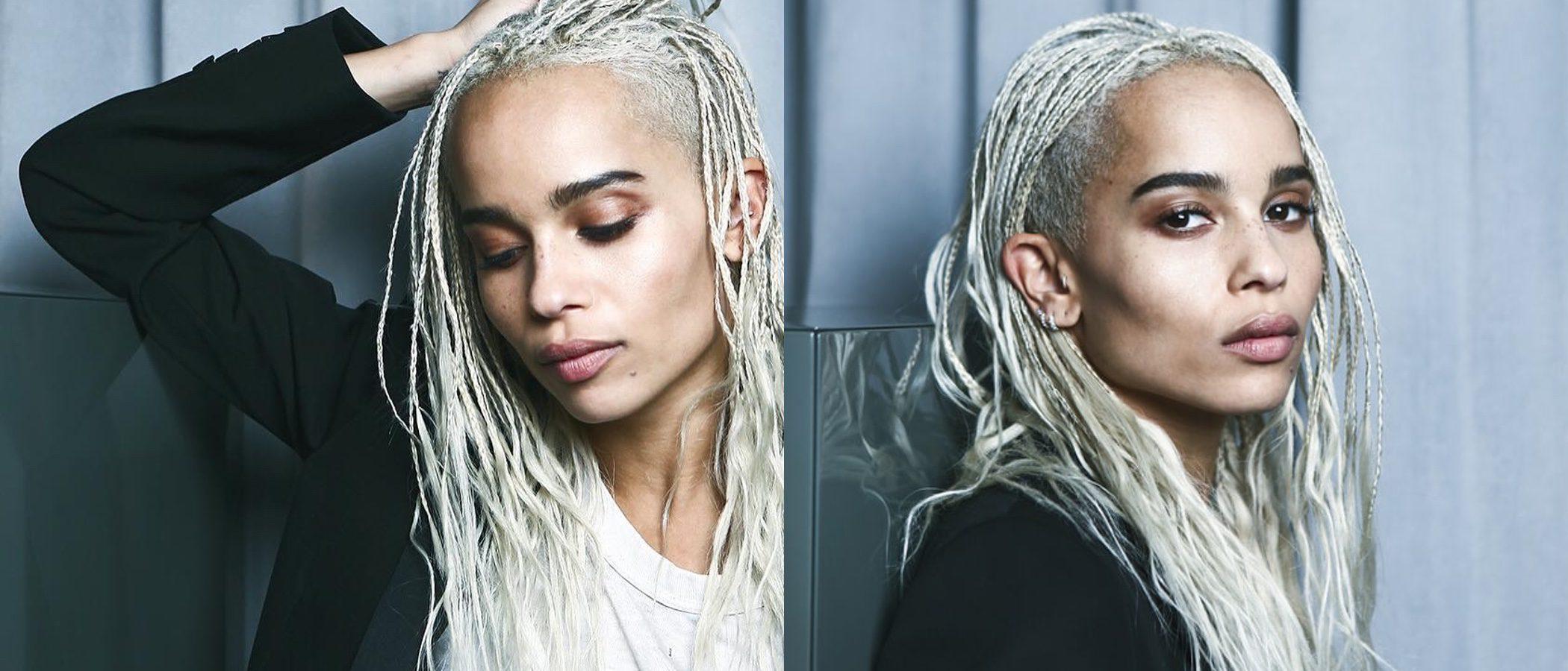 Zoë Kravitz se convierte en la nueva imagen de YSL Beauty
