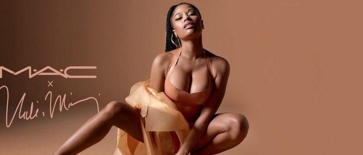 Nicki Minaj y MAC se unen de nuevo para lanzar una edición limitada de labiales nude