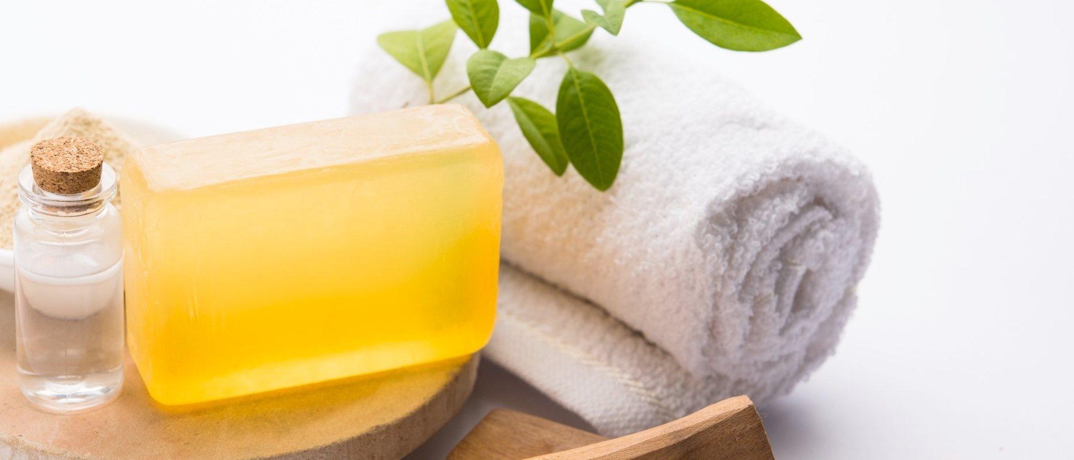 Beneficios de usar jabón de glicerina
