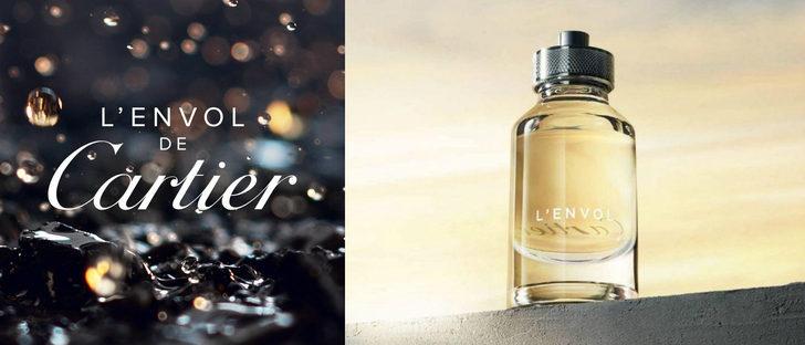 'L'Envol Eau de Toilette', la nueva fragancia masculina de Cartier