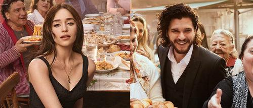 Emilia Clarke y Kit Harington unen fuerzas para el nuevo lanzamiento de Dolce & Gabbana