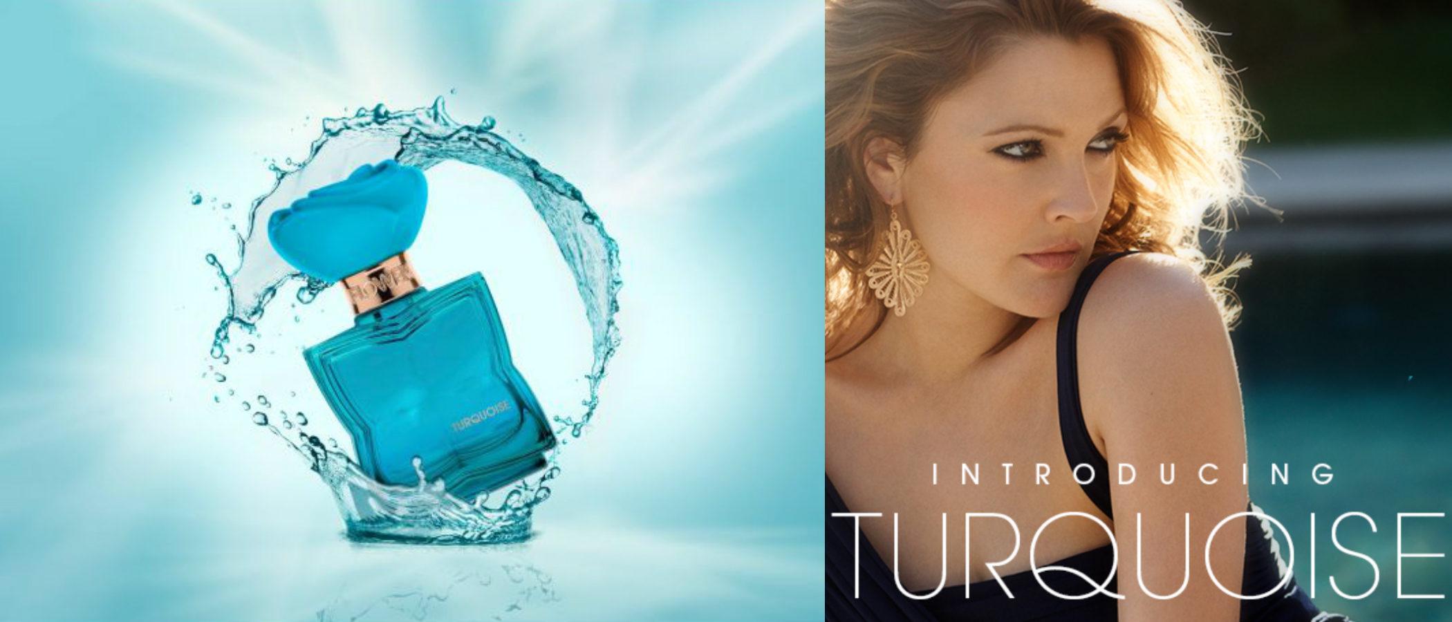 Drew Barrymore presenta 'Turquoise', la sexta fragancia de su firma Flower