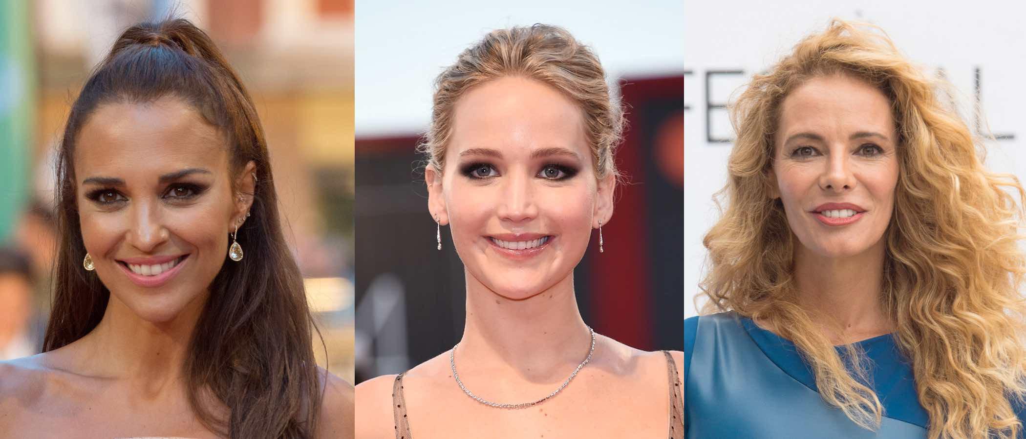 Paula Echevarría, Jennifer Lawrence y Paula Vázquez empiezan septiembre luciendo los mejores beauty looks