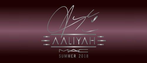MAC anuncia la esperada colección de maquillaje de Aaliyah para verano 2018