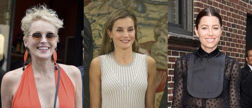 Sharon Stone, la Reina Letizia y Jessica Biel lucen los peores beauty looks de la 'vuelta al cole'