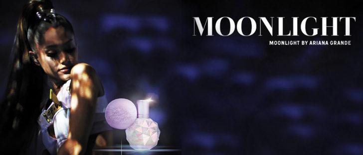 Ariana Grande presenta 'Moonlight', el nuevo perfume de su colección