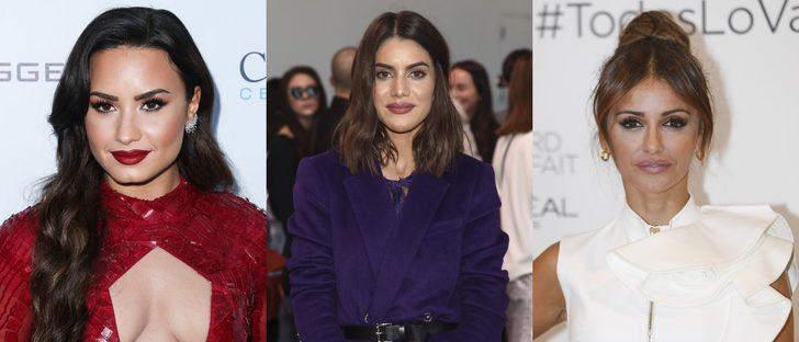 Camila Coelho, Mónica Cruz y Demi Lovato lucen los mejores beauty looks de la semana