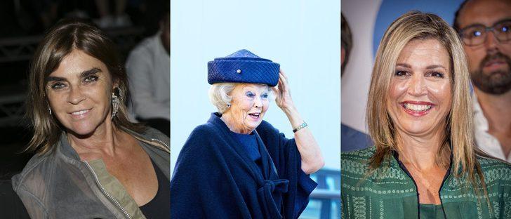 Beatriz de Holanda, Máxima de Holanda y Carine Roitfeld lucen los peores beauty looks de esta semana