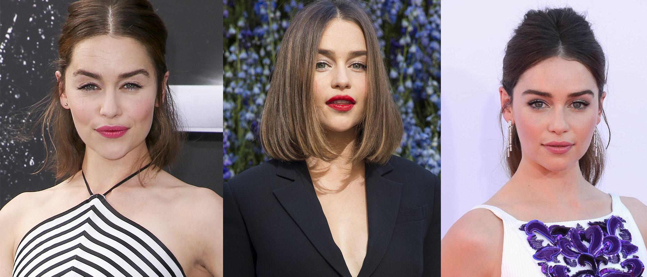 Los mejores peinados de Emilia Clarke