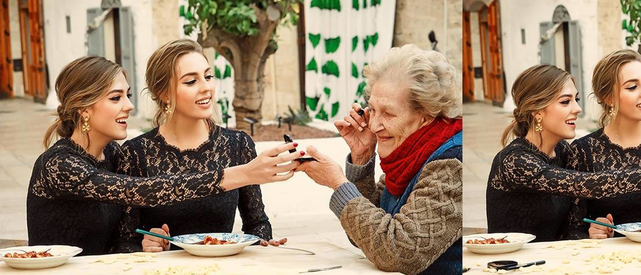 Las hijas de Sylvester Stallone protagonizan la nueva campaña de belleza de 'Dolce & Gabbana'