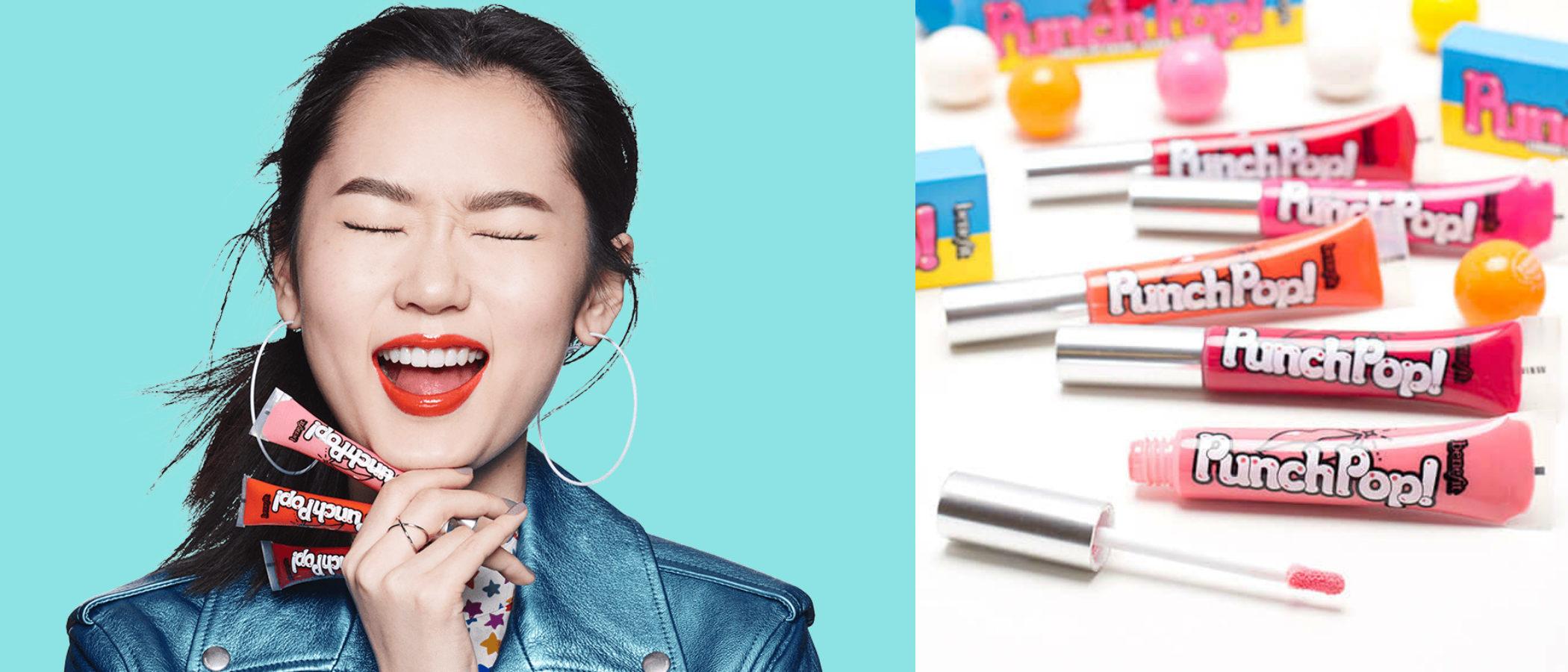 Benefit presenta 'Punch Pop', su nueva colección de labiales gloss