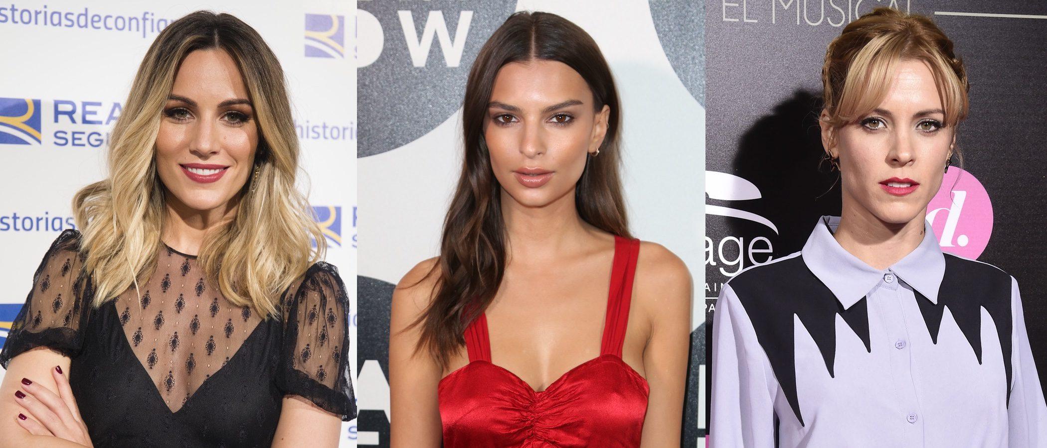 Emily Ratajkowski, Lea Michele y Edurne lucen los mejores beauty looks de la semana