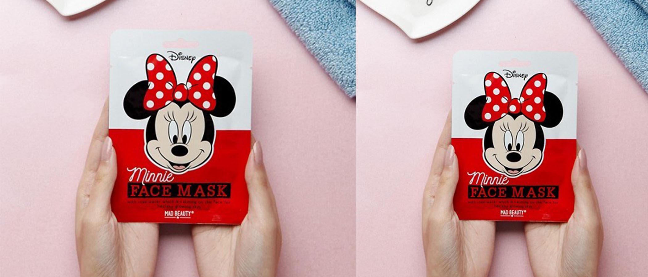 Asos y Mad Beauty lanzan unas mascarillas faciales para los amantes de Minnie Mouse