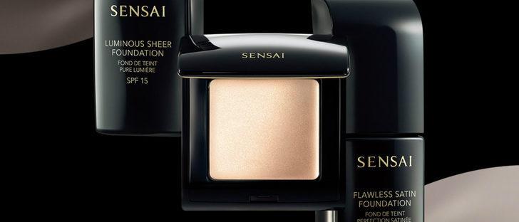 'Sensai Foundations' se inspira en la luminosidad de la seda