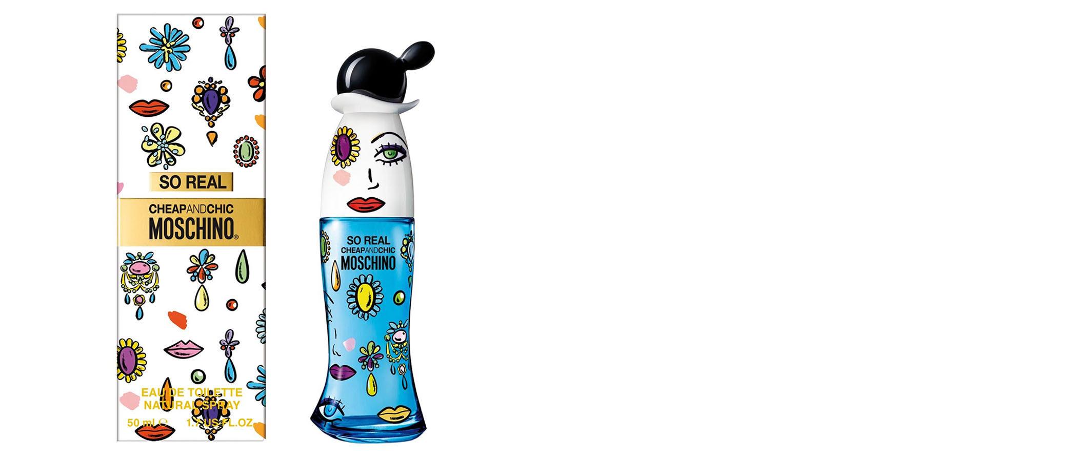 Moschino lanza su nueva fragancia 'So Real Cheap & Chic' tomando como inspiración a Popeye y Dalí