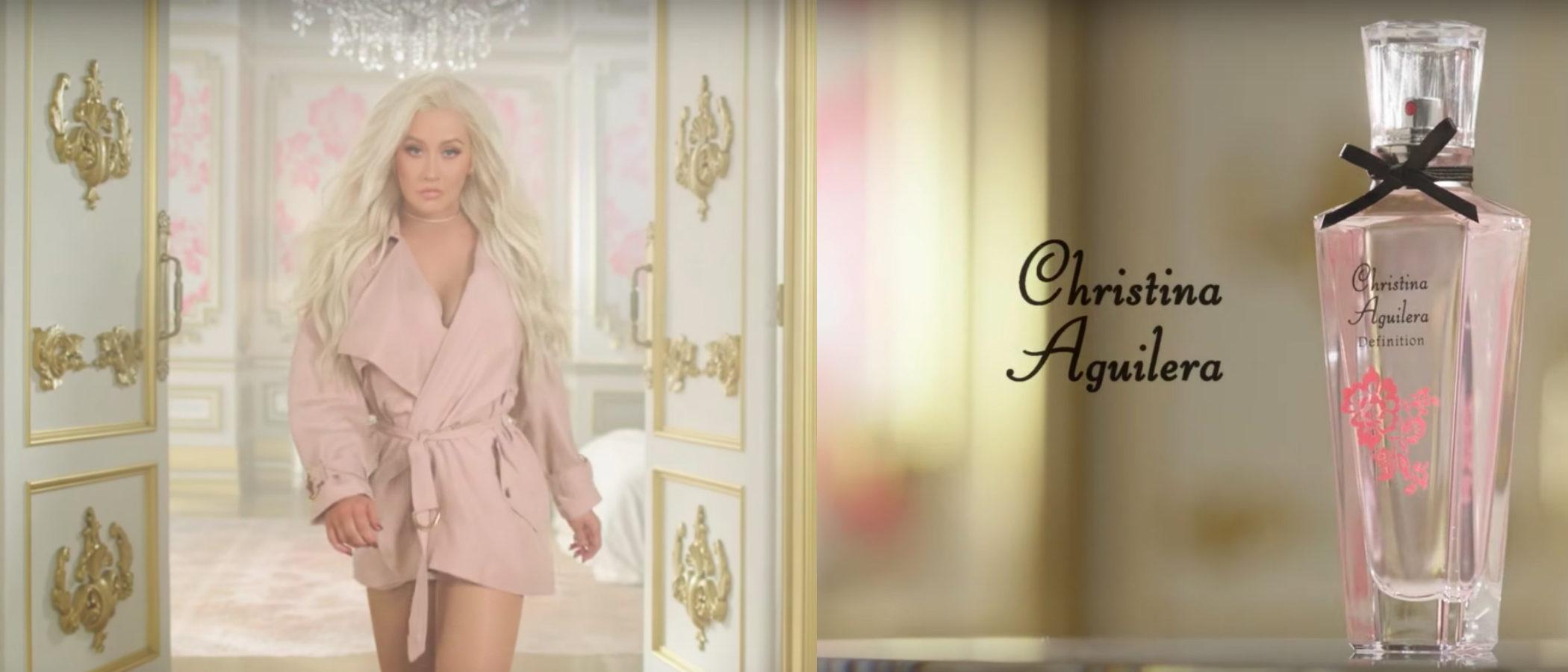 'Definition', la nueva fragancia de Christina Aguilera