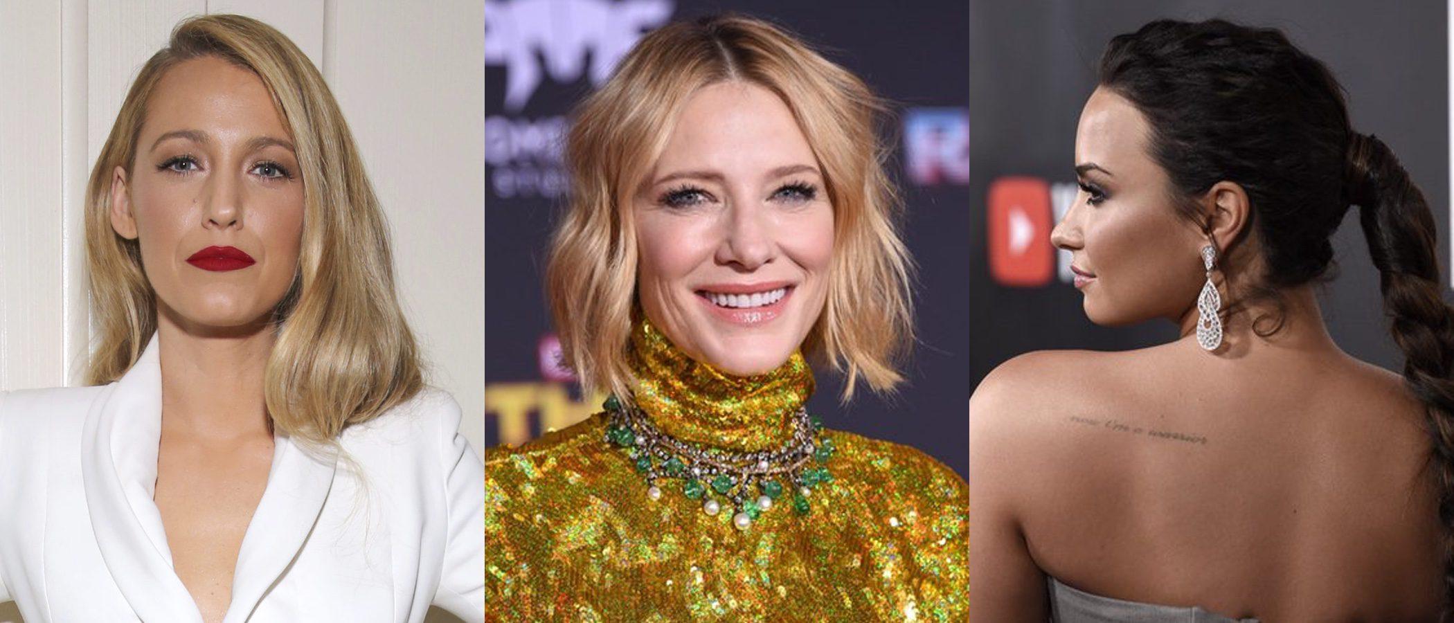 Blake Lively, Cate Blanchett y Demi Lovato, en el top de mejores beauty looks de la semana