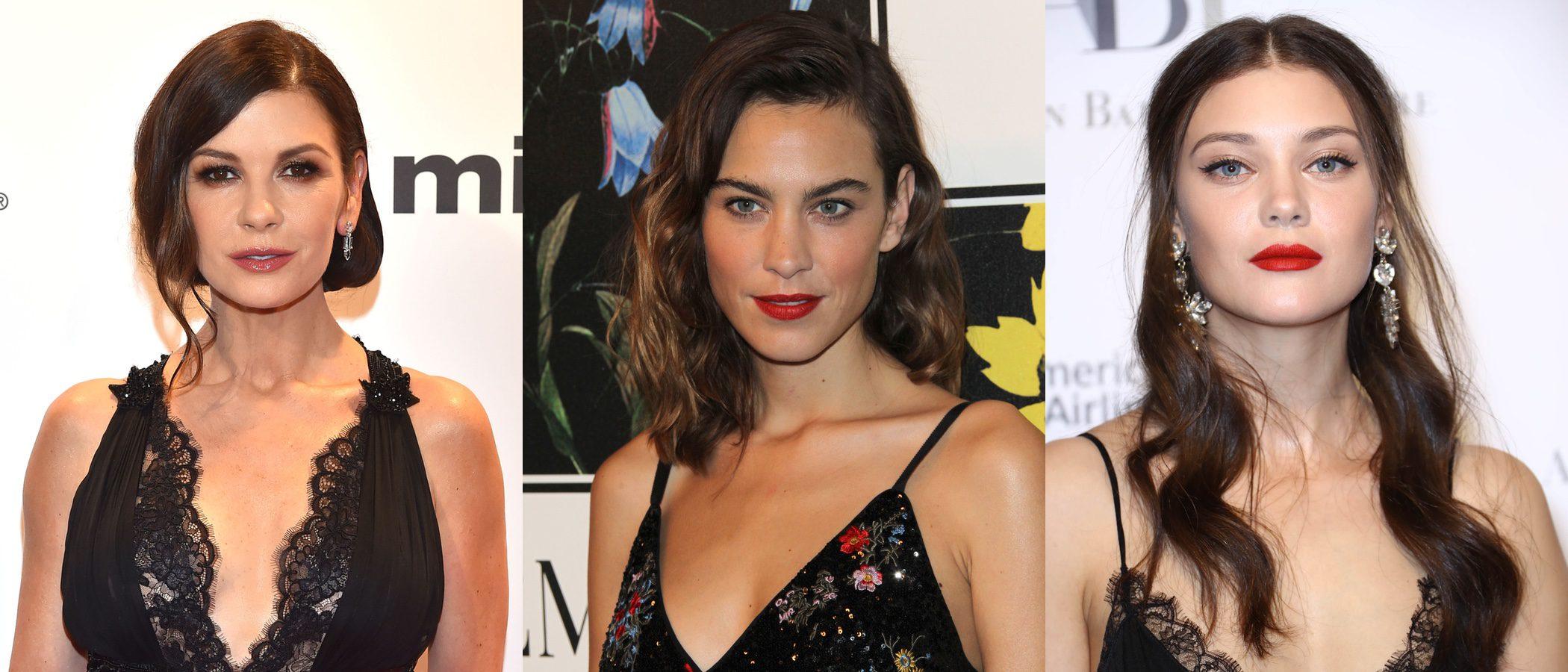 Catherine Zeta Jones, Alexa Chung y Diana Moldovan luces los mejores beauty looks de esta semana