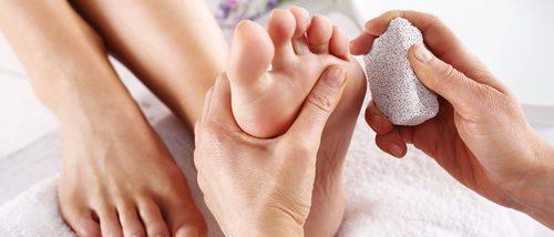 Piedra pómez natural para eliminar las durezas