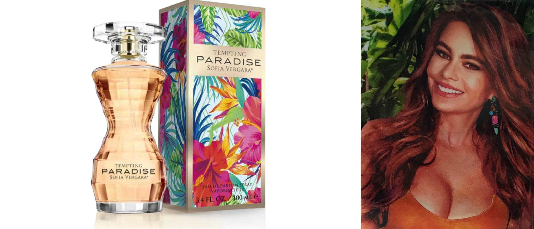 Sofia Vergara lanza 'Tempting Paradise', la nueva versión de su anterior perfume